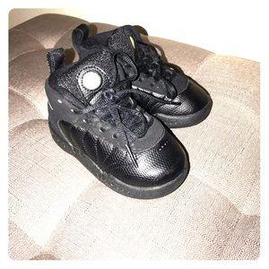 Jordan Shoes - Jordan jumpman pro black shoes sz 6
